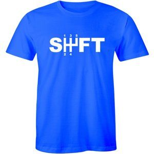 Shift Gears 5-Speed Sports Car Racing JDM T-shirt